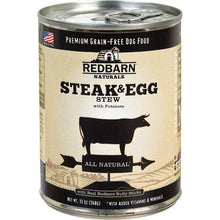 Redbarn Pet Products-Food - Steak & Eggs Stew All Natural Dog Can (Case Of 12 )-Redbarn Pet Products-food-DirtyFurClothing