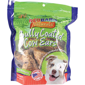 Redbarn Pet Products Inc - Bully Coated Cow Ears Dog Treats-Redbarn Pet Products Inc-DirtyFurClothing