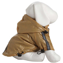 Reflecta-Sport Adustable Reflective Weather-Proof Pet Rainbreaker Jacket - Mustard Yellow-Pet Life-DirtyFurClothing