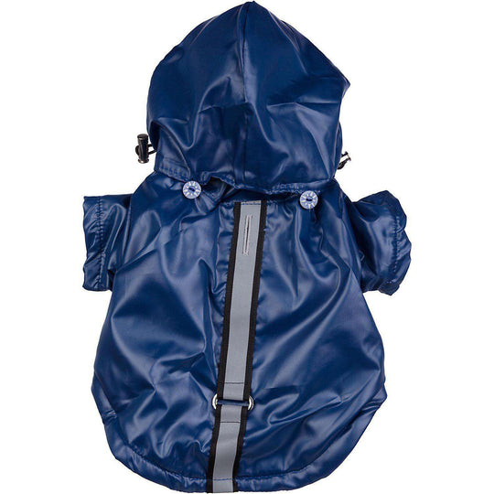 Reflecta-Sport Adustable Weather-Proof Pet Windbreaker Jacket - Dark Blue-Pet Life-DirtyFurClothing