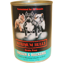 Replenish Pet Inc. - Maximum Bully Grain Free Chicken & Mackerel Canned Dog Food (Case Of 12 )-Replenish Pet Inc.-DirtyFurClothing