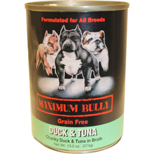 Replenish Pet Inc. - Maximum Bully Grain Free Duck & Tuna Canned Dog Food (Case Of 12 )-Replenish Pet Inc.-DirtyFurClothing