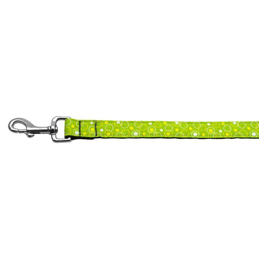 Retro Nylon Ribbon Collar Lime Green 1 Wide 6ft Lsh-Mirage Pet Products-DirtyFurClothing