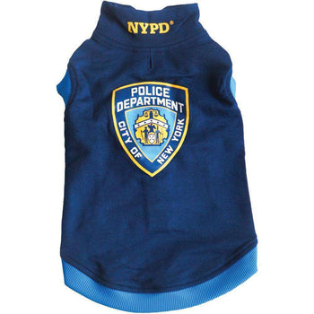 Royal Animals 13z1005r Nypd(r) Dog Sweatshirt (large)-Royal Animals-DirtyFurClothing