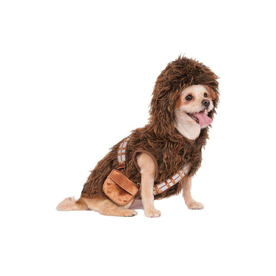 Rubies Star War Chewbacca Classic Hoodie Pet Costume Meduim-DirtyFurClothing-DirtyFurClothing