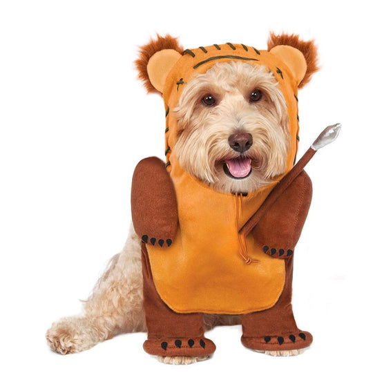 Rubies Star Wars Running Classic Ewok Pet Costume-DirtyFurClothing-DirtyFurClothing