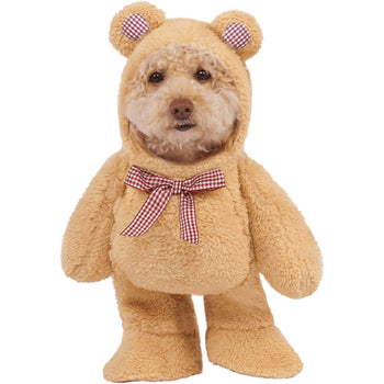 Rubies Walking Teddy Bear Pet Costume-DirtyFurClothing-DirtyFurClothing