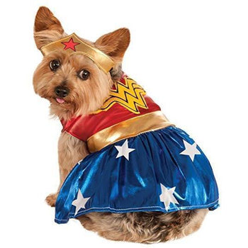 Rubies Wonder Woman Pet Costume-DirtyFurClothing-DirtyFurClothing