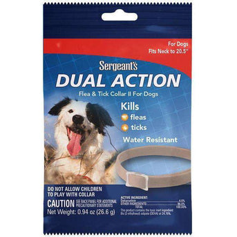 Sergeant's® Dual Action Flea & Tick Collar II for Medium Dogs Case Pack 72-Sergeant's(R)-DirtyFurClothing