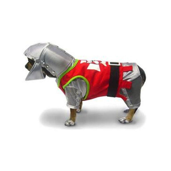 Sir Barks-A-Lot Knight Dog Costume-DirtyFurClothing-DirtyFurClothing