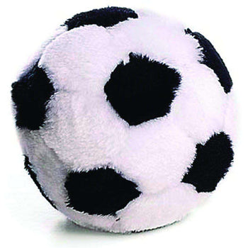 Soccer Ball Plush Dog Toy-Ethical-DirtyFurClothing
