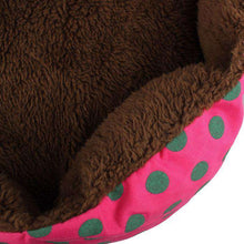 Soft Fleece Pet Dog Puppy Warm Bed House Plush Cozy Nest Mat Pad Hot Pink-DirtyFurClothing-DirtyFurClothing