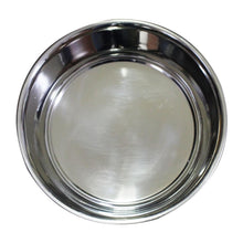 Stainless Steel Dog Bowl Bonded Fusion Black Base By Bella N Chaser-Bella N Chaser-DirtyFurClothing