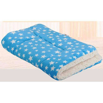[star Blue] Soft Pet Beds Pet Mat Pet Crate Pads Cozy Beds For Dogs-Blancho-DirtyFurClothing