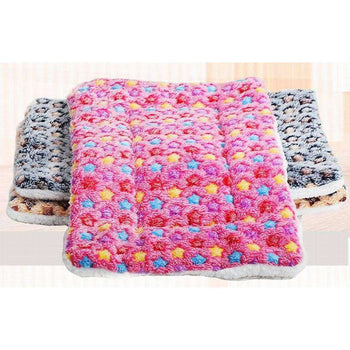 [star Pink] Soft Pet Beds Pet Mat Pet Crate Pads Cozy Beds For Dogs-Blancho-DirtyFurClothing