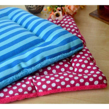 [stripe] Soft Pet Beds Pet Mat Pet Crate Pads Cozy Beds For Dogs-Blancho-DirtyFurClothing