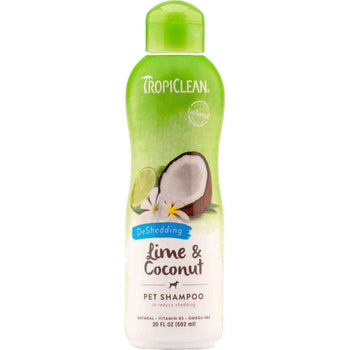 Tc Lime & Coconut Shedding Pet Shampoo-Tropiclean-DirtyFurClothing