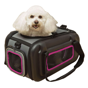 The Airline Approved Collapsible Lightweight Ergo Stow-away Contoured Pet Carrier-Pet Life-DirtyFurClothing