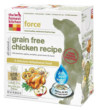 The Honest Kitchen Force - Grain-Free Chicken Dog Food - 10 Lb.-The Honest Kitchen-DirtyFurClothing