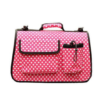 Tote Soft-sided Travel Carriers For Dog, Carry Bag, Pet Carrier Purse - Pink-Blancho-DirtyFurClothing