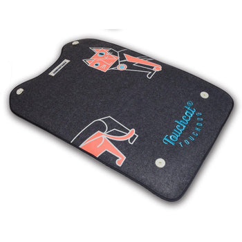 Touchcat Lamaste Travel Reversible Designer Embroidered Pet Dog Cat Bed Mat-Touchcat-DirtyFurClothing
