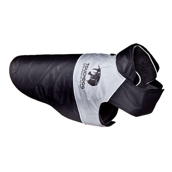Touchdog Lightening-Shield Waterproof 2-In-1 Convertible Dog Jacket W/ Blackshark Technology-Touchdog-DirtyFurClothing