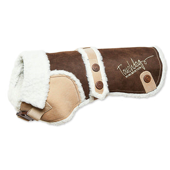 Touchdog Original Sherpa-Bark Designer Fashion-Forward Dog Coat-Touchdog-DirtyFurClothing