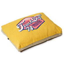 Touchdog Original Sporty Vintage Throwback Reversible Plush Rectangular Dog Bed-Touchdog-DirtyFurClothing