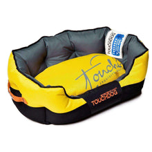 Touchdog Performance-Max Sporty Comfort Cushioned Dog Bed-Touchdog-DirtyFurClothing