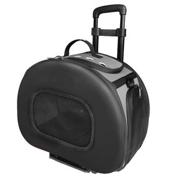 Tough-Shell Wheeled Collapsible Final Destination Pet Carrier-Pet Life-DirtyFurClothing