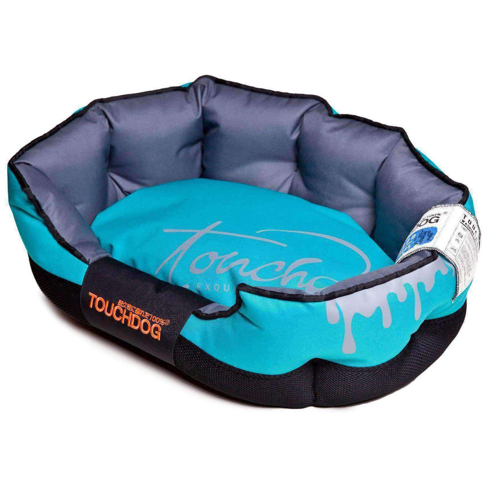 Toughdog Performance-Max Sporty Comfort Cushioned Dog Bed-Touchdog-DirtyFurClothing