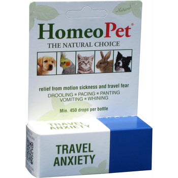 Travel Anxiety Stress Relief From Motion Sickness & Travel Fear-Homeopet-DirtyFurClothing