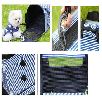 Travel Tote Soft-sided Carriers For Dog, Carry Bag, Pet Carrier Backpack-Blancho-DirtyFurClothing