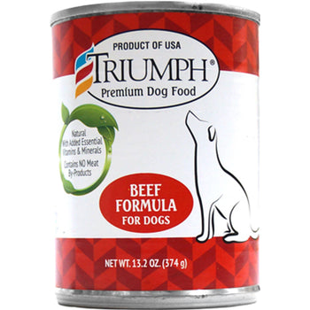 Triumph Pet Industries - Canned Dog Food Beef Formula (Case Of 12 )-Triumph Pet Industries-DirtyFurClothing