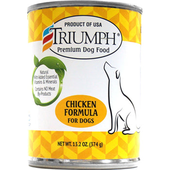 Triumph Pet Industries - Canned Dog Food Chicken Formula (Case Of 12 )-Triumph Pet Industries-DirtyFurClothing