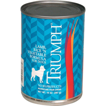 Triumph Pet Industries - Canned Dog Food Lamb, Rice 'N Vegetable Formula (Case Of 12 )-Triumph Pet Industries-DirtyFurClothing