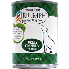 Triumph Pet Industries - Canned Dog Food Turkey Formula (Case Of 12 )-Triumph Pet Industries-DirtyFurClothing