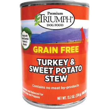 Triumph Pet Industries - Grain Free Stew Canned Dog Food (Case Of 12 )-Triumph Pet Industries-DirtyFurClothing
