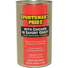 Triumph Pet - Sportsmans - Sportsman'S Pride Canned Dog Food With Chicken In Savory Gravy (Case Of 6 )-Triumph Pet - Sportsmans-DirtyFurClothing