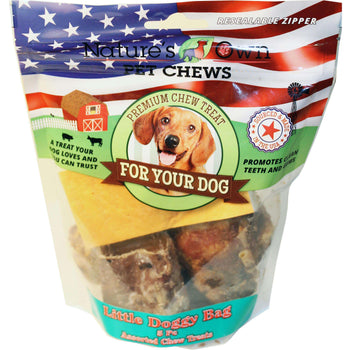 Usa Little Doggy Bag Natural Chew Treats-Best Buy Bones-DirtyFurClothing