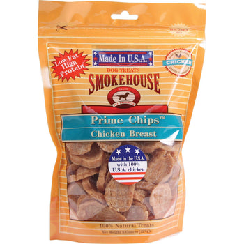 Usa Prime Chips Dog Treats Resealable Bag - Prime Chips-Smokehouse Pet Products-DirtyFurClothing