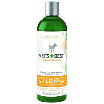 Vet's+best Flea Itch Relief Shampoo For Dogs-Bramton-DirtyFurClothing