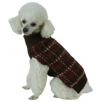 Vintage Symphony Static Fashion Knitted Dog Sweater-Pet Life-DirtyFurClothing