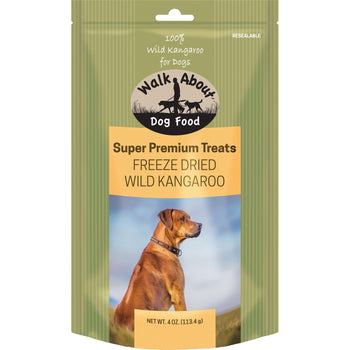 Walkabout Freeze Dried Grain Free Dog Treats 4Oz-Walkabout Pet-DirtyFurClothing