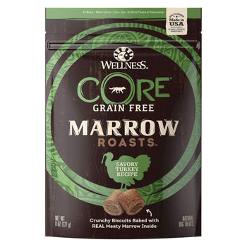 Wellness Core Canned Dog Food - Marrow Roasts Savory Turkey Recipe - Case Of 8 - 8 Oz.-Wellness Pet Products-DirtyFurClothing