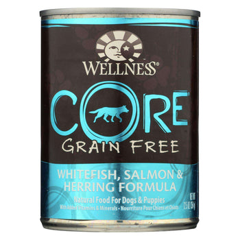 Wellness Pet Products Canned Dog Food - Whitefish - Salmon And Herring - Case Of 12 - 12.5 Oz.-Wellness Pet Products-DirtyFurClothing