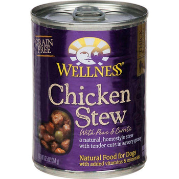 Wellness Pet Products - Chicken Stew With Peas & Carrots Canned Dog Food ( 12 - 12.5 Oz Cans)-Wellness Pet Products-DirtyFurClothing