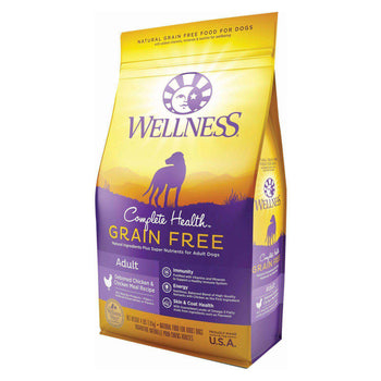 Wellness Pet Products Dog Food - Grain-Free - Chicken Recipe - Case Of 6 - 4 Lb.-Wellness Pet Products-DirtyFurClothing