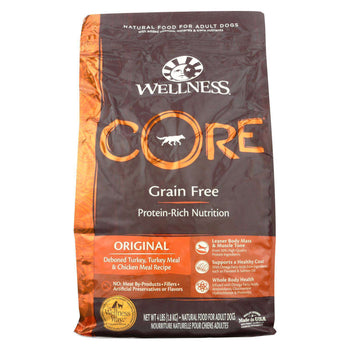 Wellness Pet Products Dog Food - Original Formula - Case Of 6 - 4 Lb.-Wellness Pet Products-DirtyFurClothing