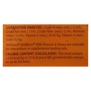 Wellness Pet Products Dog Food - Peanuts And Honey - Case Of 6 - 20 Oz.-Wellness Pet Products-DirtyFurClothing